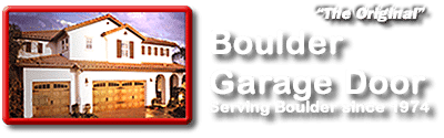 Best garage door company in Boulder Co