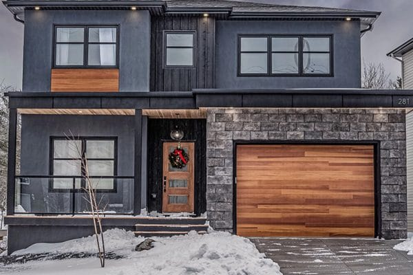 Who installs all wood garage doors
