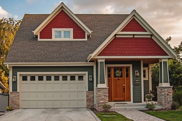 Replace garage door