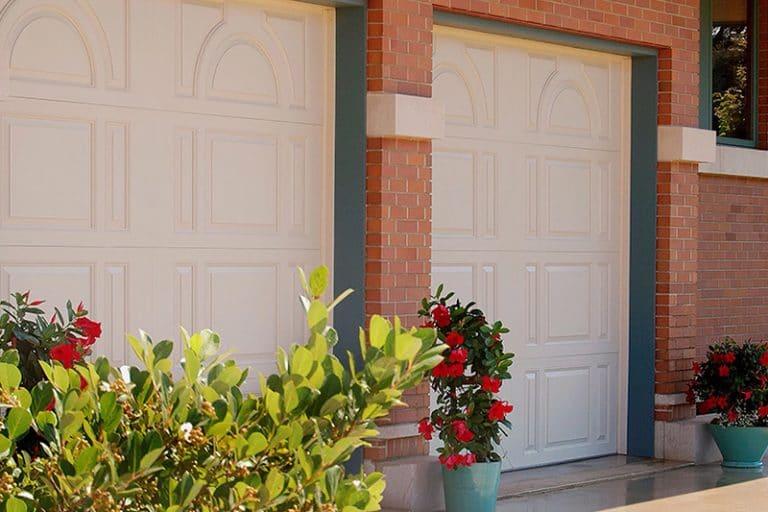 new double garage doors