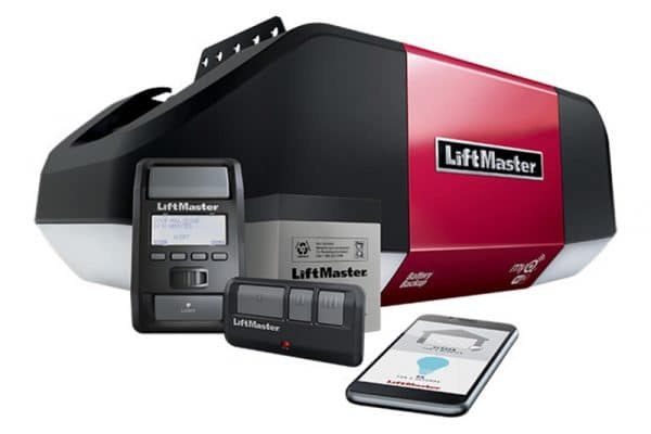 Liftmaster garage door opener installer