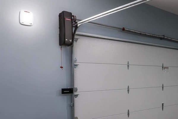 new wall mounted garage door opener