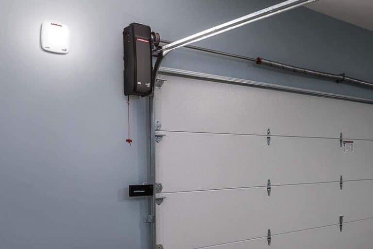 new wall mounted garage door opener
